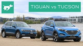 2017 Volkswagen Tiguan vs 2017 Hyundai Tucson Comparison Review