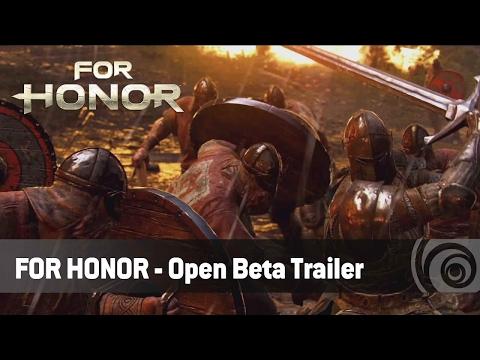 [English] For Honor - Open Beta Trailer - Ubisoft SEA