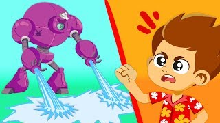 Dr. Spooky wants to change the weather! | Protect the environment! | Superzoo