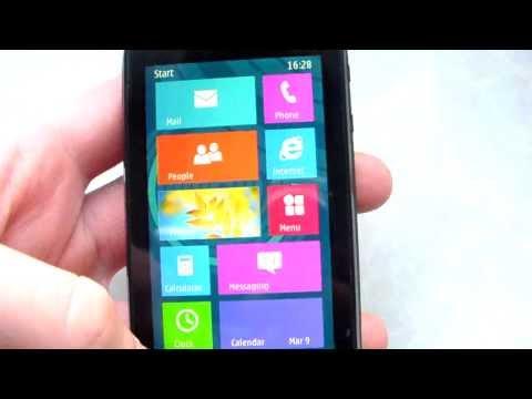 Windows Phone 8 for Symbian Nokia 603