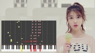 IU, HIGH4 - Not Spring, Love, Or Cherry Blossoms (Piano)