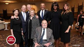 Four Former Presidents Gather To Honor Barbara Bush, But Not Pres. Trump | The View