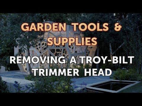 Removing a Troy-Bilt Trimmer Head