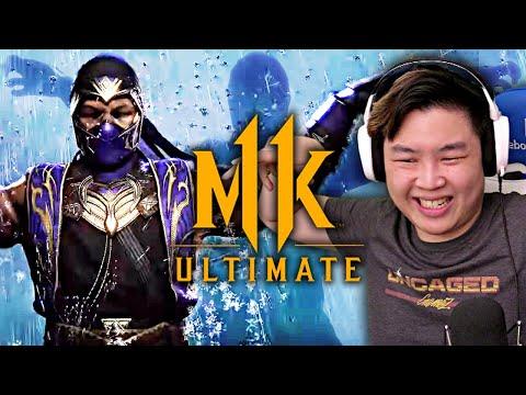 Mortal Kombat 11 Ultimate - Official Rain Gameplay Trailer!! [REACTION]