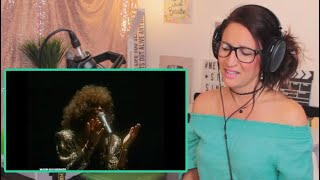 Vocal Coach Reacts - WHITNEY HOUSTON - The Greatest Love Of All (London, Wembley, 1988)