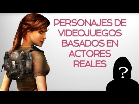 Personajes de videojuegos basados en actores reales