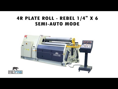 Plate roll Rebel 4 Rolls 1/4 x 6 feet - Semi-Auto mode
