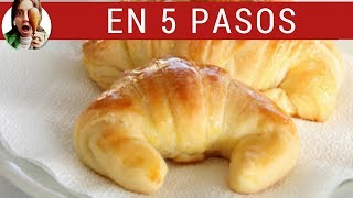 MEDIALUNAS DE MANTECA CASERAS (Cómo hacer croissants) thumbnail