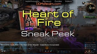 Neverwinter Sneak Peek - The Heart of Fire Module - Acquisitions Incorporated