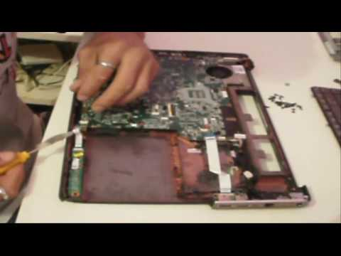 Montagem passo a passo do notebook hp pavilion dv5