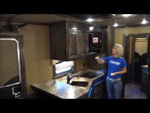 Cimarron Living Quarters Horse Trailer with Outback Custom Interiors - Video Walkthrough