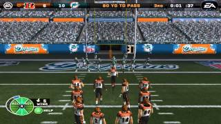 NFL: Walkoff SAFETY!? Thursday Night Football Miracle - Madden PC Franchise Mode - Wk9 CIN@MIA