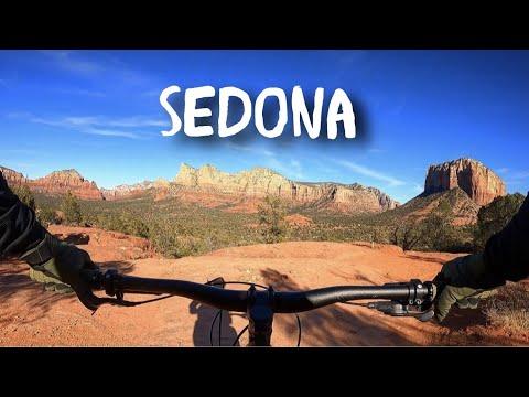 Mountain Biking Sedona for the First time! // West Sedona Tour, Mescal, Chuckwagon and Slim Shady