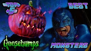Top 5 Best Goosebumps Monsters
