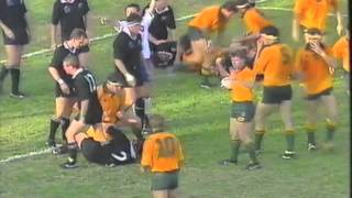 Wallabies v All Blacks 1992 - Ballymore, Brisbane (Highlights - Part 3)