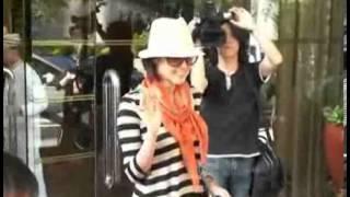 日期:2009-05-08 12:40:00 新浪娛樂訊藤原紀香乘機從東京抵港,準備出...
