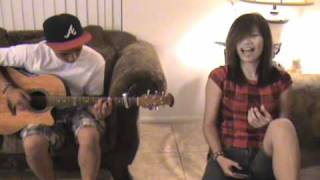 Bruno Mars Talking to the Moon -  acoustic cover by Jessica Sanchez with Anthony Balmeo