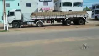 Greve dos caminhoneiros provoca a falta Gasolina em Posto de combustível da cidade