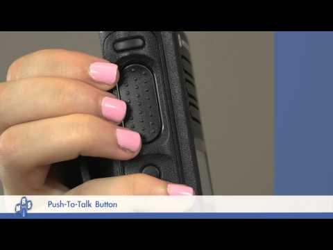 Motorola Mototrbo DP4600 Portable Radio - PTT (Push To Talk) Training Video