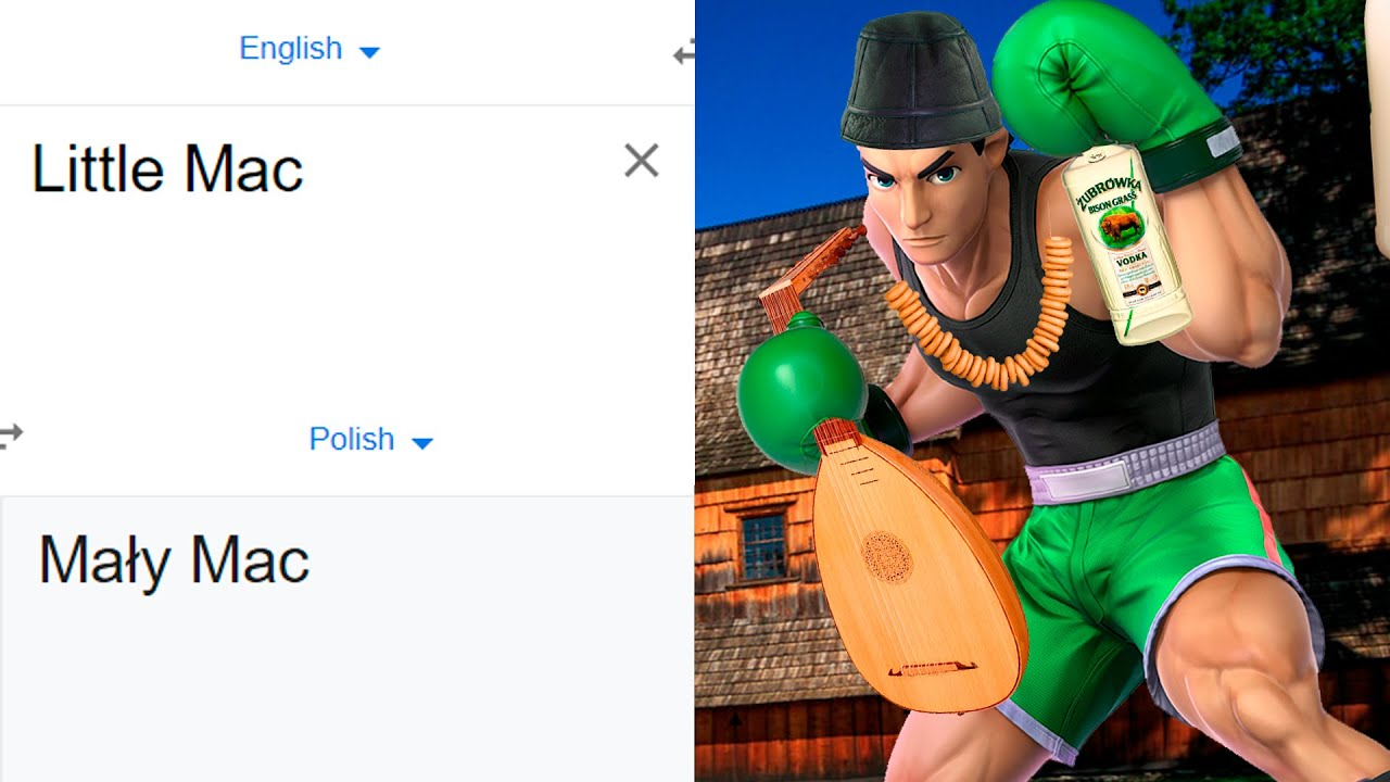 Download Little Mac in different languages meme