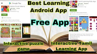 Best Learning Android App for Kids  