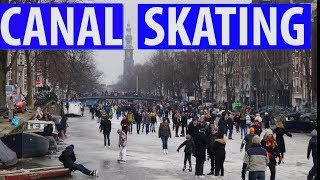 Skating on Frozen Canals & Coolest Ice Track Amsterdam