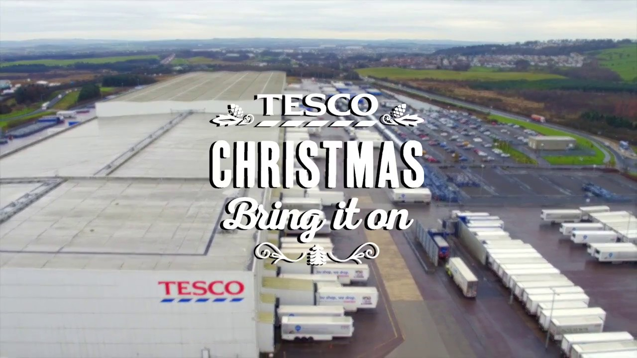 Tesco | Serving Scotland this Christmas from our Livingston Distribution Centre