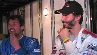 Racing advice from Keanu Reeves, Adrien Brody and Patrick Dempsey