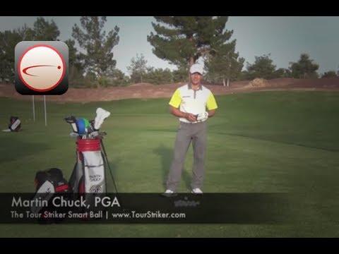 The Tour Striker Smart Ball - Martin Chuck, PGA