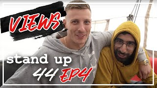 Comedy bedeutet Schlafen & Football im Backstage | Stand Up 44 Views Ep. 4