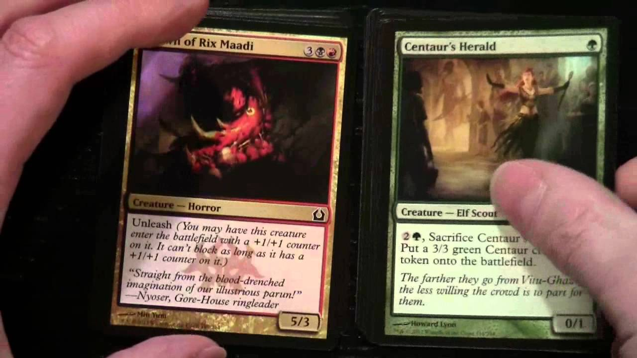 Magic The Gathering - Holiday Gift Box (Contains 4 x Return to ...