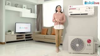 Blibli Live - AC LG Dual Cool Deluxe