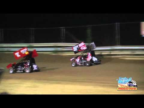 Winged Outlaw Micro Sprints | A-Main | Southern IL Raceway | May 5th, 2012