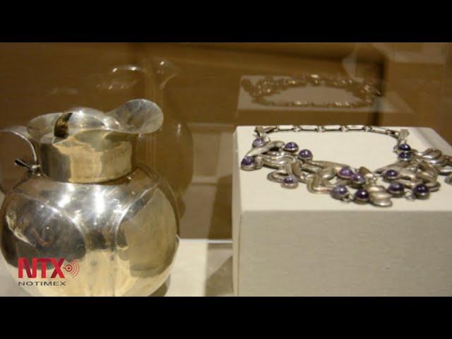 Celebra Instituto Cultural Mexicano 25 aniversario con muestra de la plata de Spratling