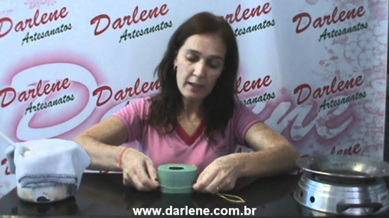 Artesanato Sao Carlos ~ Aprenda a fazer Sabonete de Lim u00e3o com Darlene Artesanato YouTube
