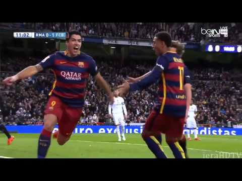 Real Madrid vs FC Barcelona 0 - 4  22.11.2015 HD