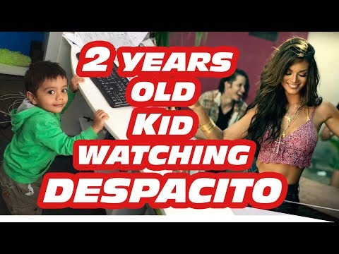 Funny Baby is Watching Despacito