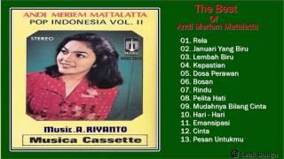 Andi Meriem Matalatta   Full Album ► Tembang Kenangan ► Lagu Lawas 80an   90an indonesia