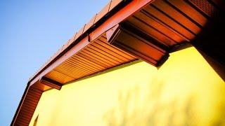 Montaż podbitki dachowej DIY. Podbitka podsufitka PCV. Roof soffit