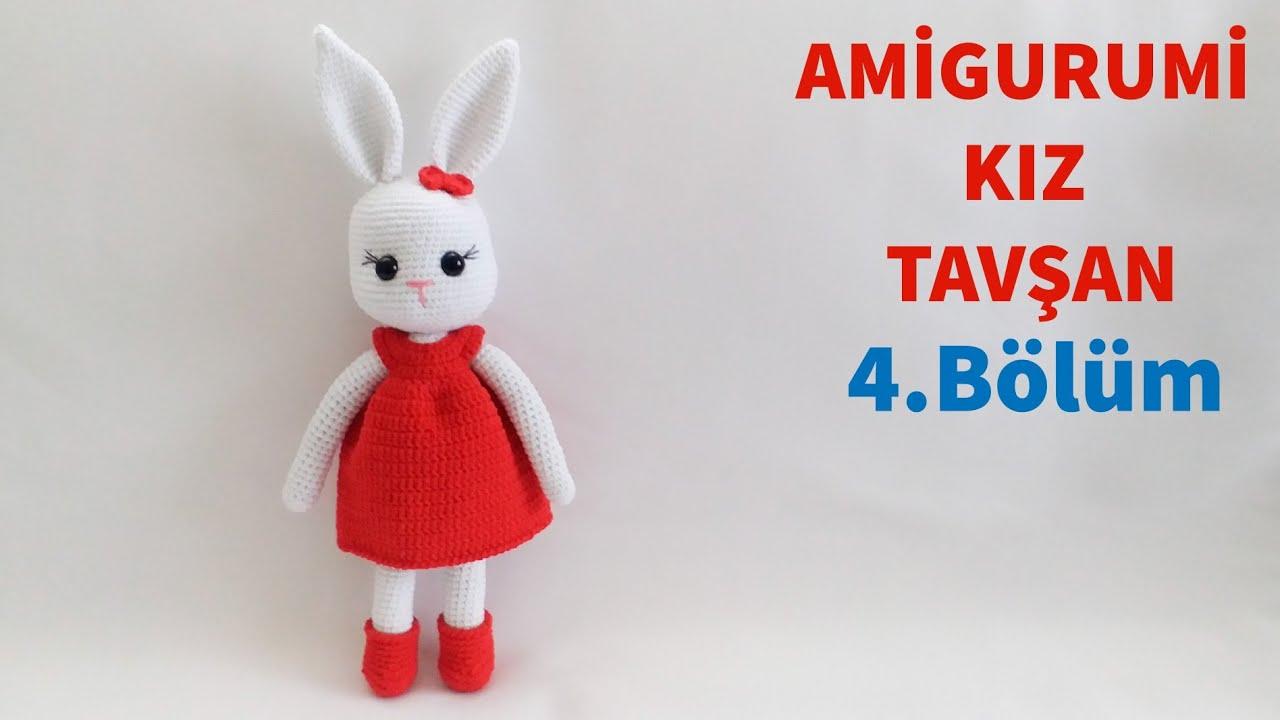 Amigurumi Crochet Smurfette (Şirine) Free Pattern Yapılışı | 720x1280