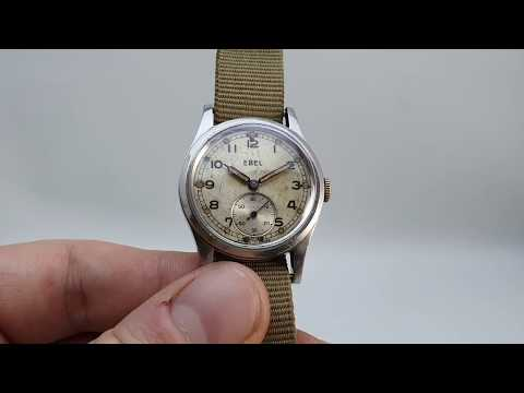 C1941 Ebel ATP Military Issued Men's Vintage Watch