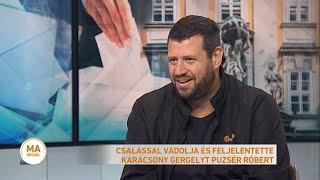 Puzsér Róbert a köztévében   2019.09.06.