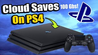 How To Access Cloud Saves On Ps4 | Transfer & Restore Game Saves To The Cloud Or Usb!  Best Method