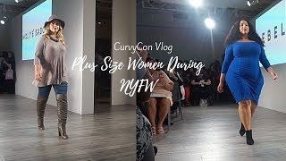 Plus Size Women During NYFW | CurvyCon Vlog