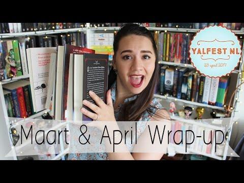 Maart & April Wrap-up || MEGA Boek Reviews
