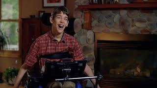 Justin promotes inclusivity with technology as his voice: Audio Description Version thumbnail
