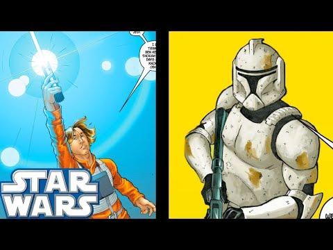 Luke Skywalker MEETS The Long LOST Clone Trooper - Star Wars Comics Explained