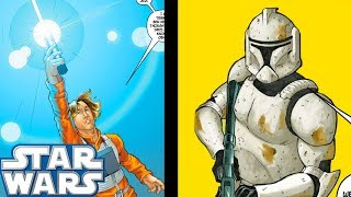 Luke Skywalker MEETS The Long LOST Clone Trooper - Star Wars Comics Explained