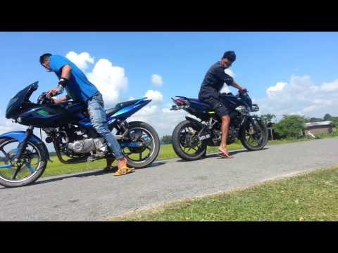 Bike stunt Assam Tezpur Dhekiajuli Singri