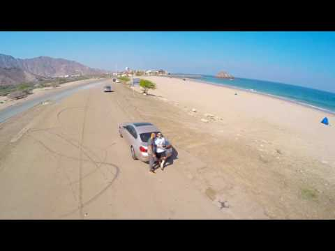 Drone footage in Fujairah